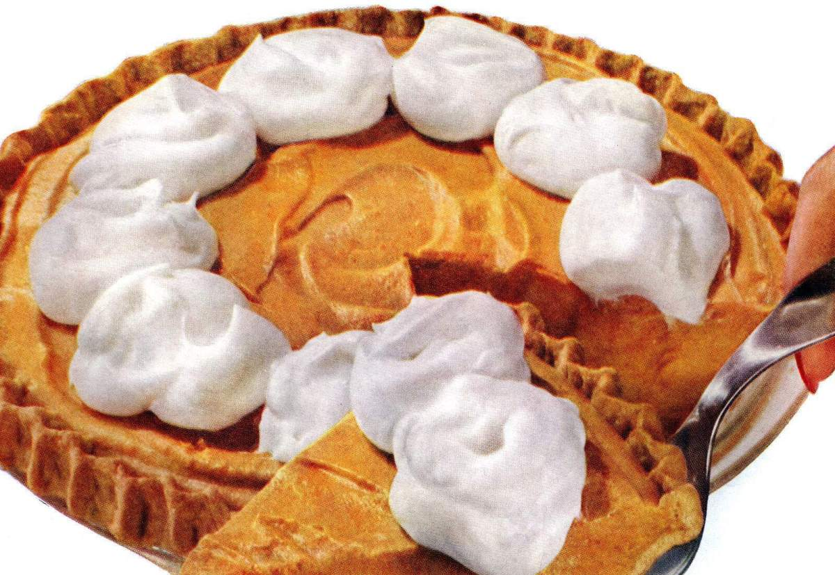 Pumpkin Dream Pie: The '50s classic no-bake dessert recipe, plus a bonus gingersnap crust to try (1959)
